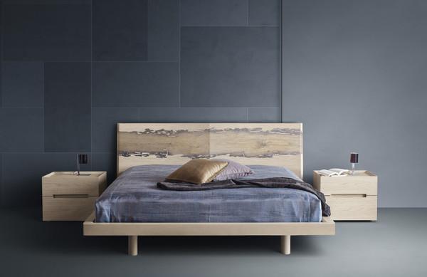 Produzione camera da letto decorata a mano finiture laccate - Bartolomeo mobili ...